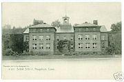 PostcardSalemSchoolNaugatuckCT1915