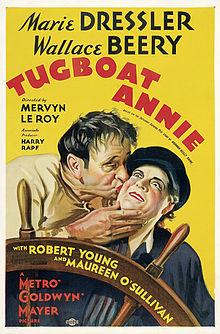 Afiŝo - Tugboat Annie 01.jpg