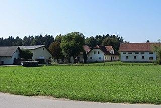 Potok pri Komendi Place in Upper Carniola, Slovenia