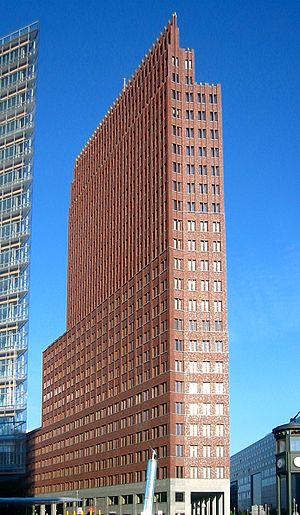 Hans Kollhoff - Image: Potsdamer Platz Kollhoff Tower, 20060603
