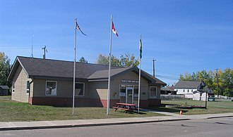 Pouce Coupe - Image: Pouce Coupe Town Hall