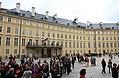 Prague Praha 2014 Holmstad Prague Castle Den indre borggården til Prahaborgen.jpg