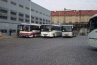 Praha, Florenc, Autobusy Karosa.JPG