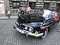 Praha, Nové Město, Automobil Tatra vystavený při příležitosti 40 let od okupace.jpg