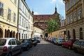 Praha, Staré Město, Haštalská, U kláštera.jpg