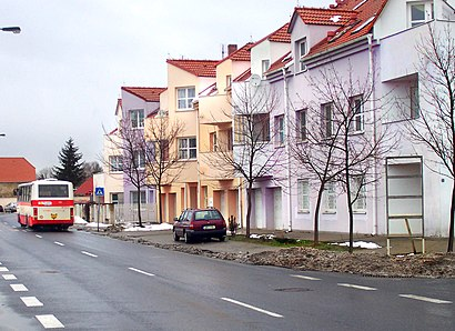 How to get to Šeberov with public transit - About the place