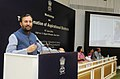 Prakash Javadekar addressing the District Education Officers, DIETs, SCERTs, State Nodal Officers and Central Ministries, at the workshop on Transformation of Aspirational Districts, in New Delhi (1).JPG