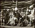 Preaching to children, unknown location, India (c. 1900).jpg