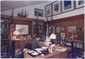 President Bush works at his office in Laurel Lodge at Camp David - NARA - 186461.tif