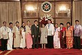 President Gloria Macapagal-Arroyo poses with the awardees of the 2009 Ten Outstanding Teachers of the Philippines.jpg