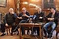 Press conference of actors Tigran Gasparyan, Armen Marutyan and Albert Safaryan.jpg