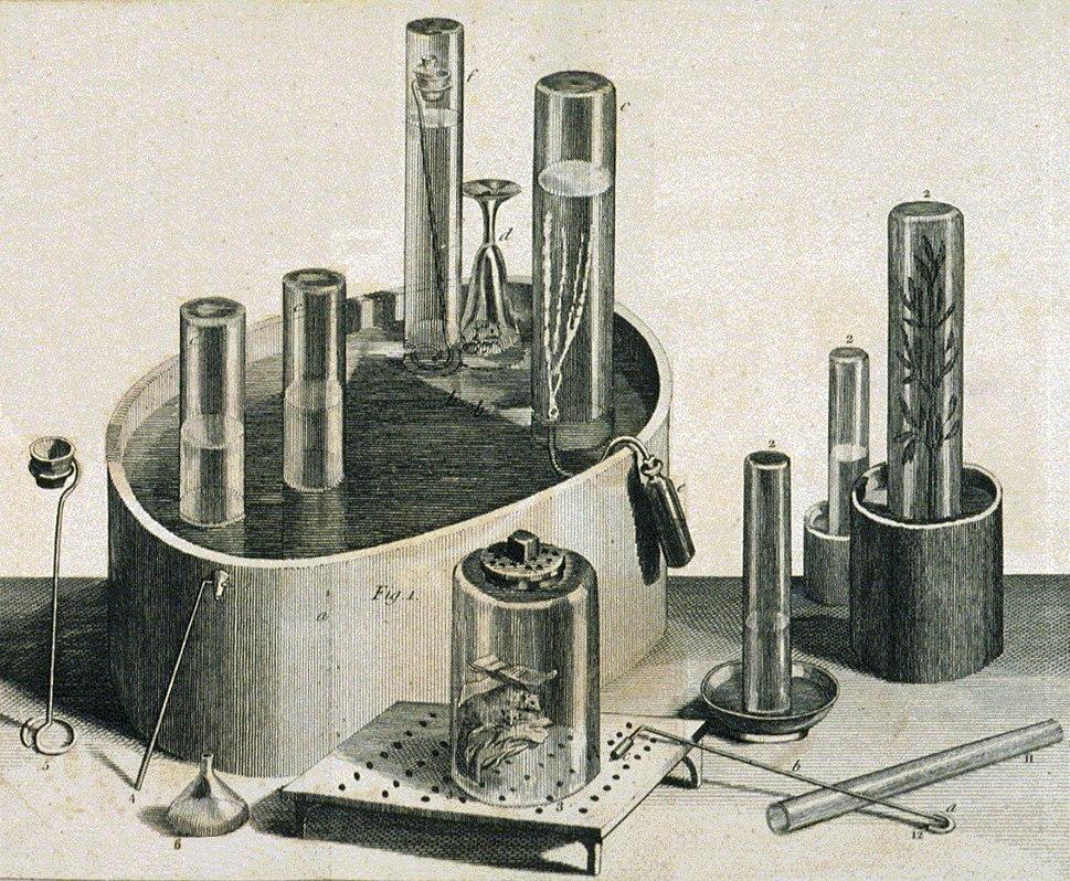 Priestley Joseph pneumatic trough