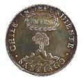 Primera moneda acuñada de Chile Independiente (29831138662).jpg