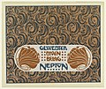 Print, Gewebter Boden Belag Neptun (Neptune Woven Floor Covering), plate 13, in Die Quelle- Flächen Schmuck (The Source- Ornament for Flat Surfaces), 1901 (CH 18670507).jpg