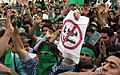Pro-Mousavi demonstration, Azadi square - 11 June 2009 (8 8803201547 L600).jpg