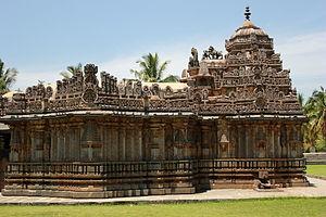 Veera Ballala II - Amruteshwara temple at Amruthapura, c.1196
