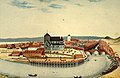 Prospect af Staden Trondhiem. Optaget fra søndre Side eller ved Elsæter Gaard (1826).jpg