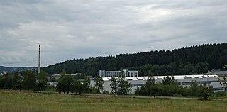 Rýnovice Village in Czech Republic