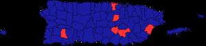 Puerto Rican general election, 2008 - Image: Puerto Rican general election, 2008 map