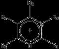 Pyrimidinium ion.png