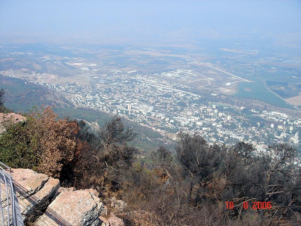 Qiryat Shmona after the 2006 Lebanon War