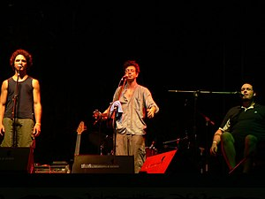 Rainforest World Music Festival - Québécois band performing during RWMF 2006