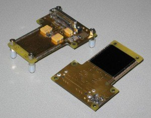 Medipix - Image: Quad board