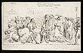 Queen Caroline, wife of King George IV, is greeted by Wellcome L0050927.jpg