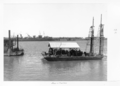 Queensland State Archives 4078 Dredges Brisbane River c 1949.png