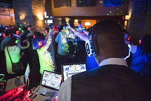Silent disco - QuietClubbing Gatsby Party in New York on April 8, 2016