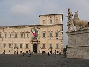 Palazzo Quirinale, Roma / Rome, Italia / Italy