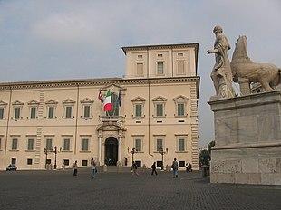 Palazzo del Quirinale nel 2004