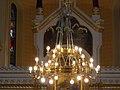 Rózsák Square Greek Catholic Church, chandelier, 2016 Budapest.jpg