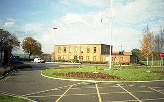 RAF North Luffenham - Station Headquarters in 1997