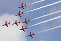 RAF Red Arrows Display 03, Mahon(MAH) 26SEP12 (8027553479).jpg