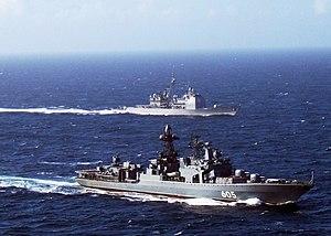 Udaloy-class destroyer - Image: RFNS Admiral Levchenko DDG 605