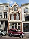 foto van Winkelwoning met de stilistische kenmerken van de art nouveau