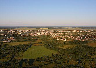 Radviliškis District Municipality - Image: Radviliskio panorama