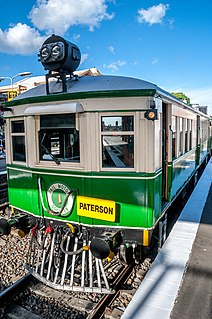 Rail Motor Society Railway museum in New South Wales, Australia