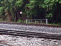 Railroad Gate at switch and Wye Track. August 2013 - panoramio.jpg
