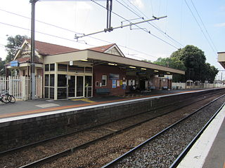 Newport railway station, Melbourne railway station in Newport, Melbourne, Victoria, Australia