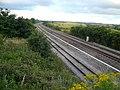 Railway Track - South View from Love Lane Railway Bridge - geograph.org.uk - 495996.jpg
