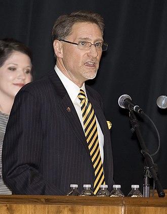 Randy Dunn - Randy Dunn as president of Murray State University in February, 2011