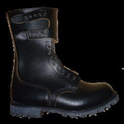 Leather Steel Toe Boots Women Shoe Carnevale