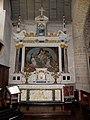 Rannée (35) Église Retable du Rosaire 05.jpg