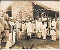 Rao Saheb Ganpatrao Narayan Madiman at the Woman's Hospital, Hubli.jpg
