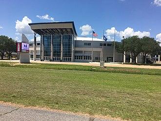 Rapides Parish Coliseum - Front Entrance of Rapides Coliseum