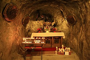 Capuchin Friary, Rapperswil - Antoniusgrotte (St. Anthony's Grotto)