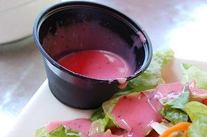 Vinaigrette - A raspberry vinaigrette
