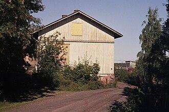 Pispala - A typical wooden house in Pispala.